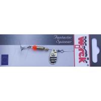 WR/4106 Rotativa Wirek Hopper/1.9g/aurie cu dungi negre