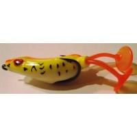 "Vobler Paddle Frog/10cm/20g/plutitor/""piersica fluo"""